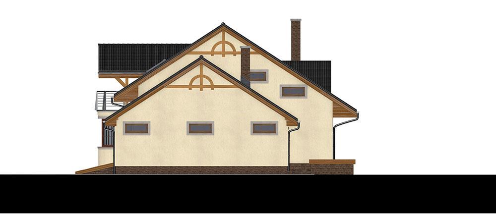 projekt rodinného domu RM 100
