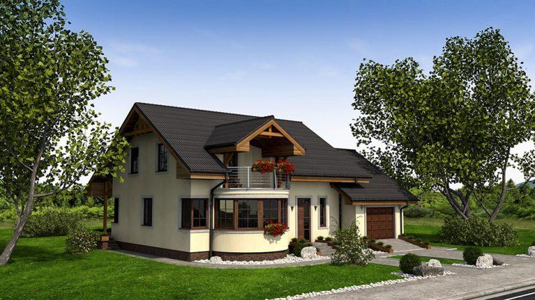 Jednopodlažný rodinný dom RM 100