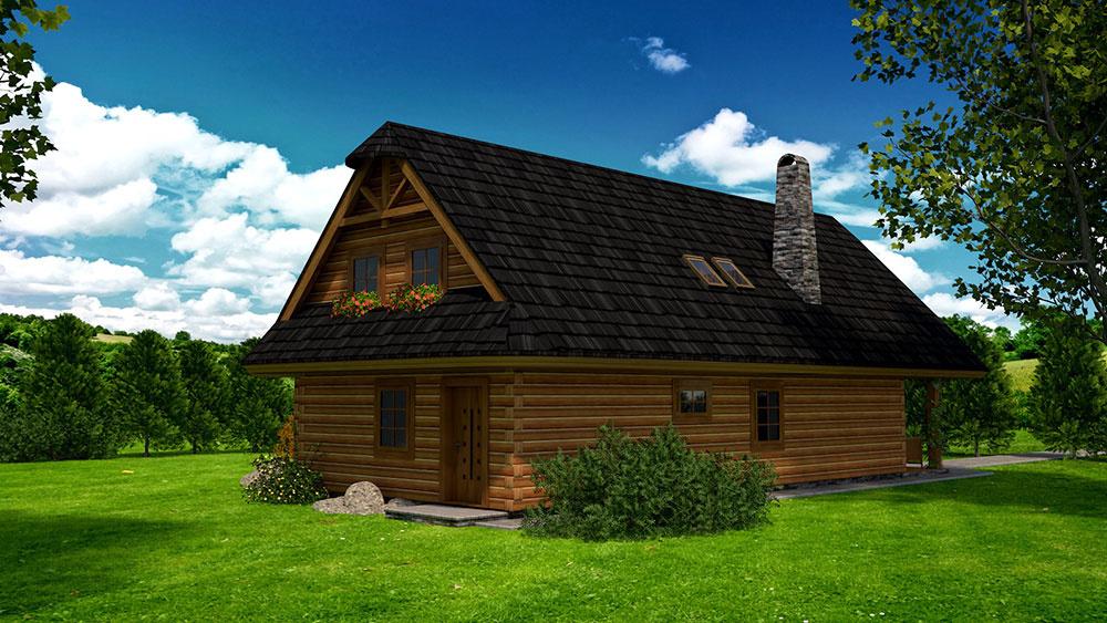 projekt rodinného domu RM 120