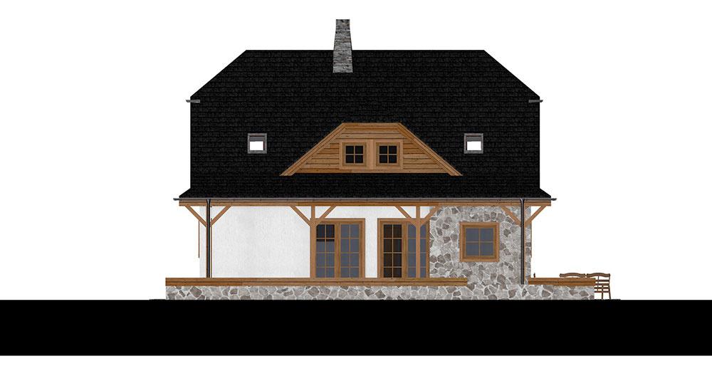 projekt rodinného domu RM 123