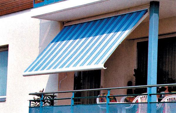 Zatienenie balkónov a terás