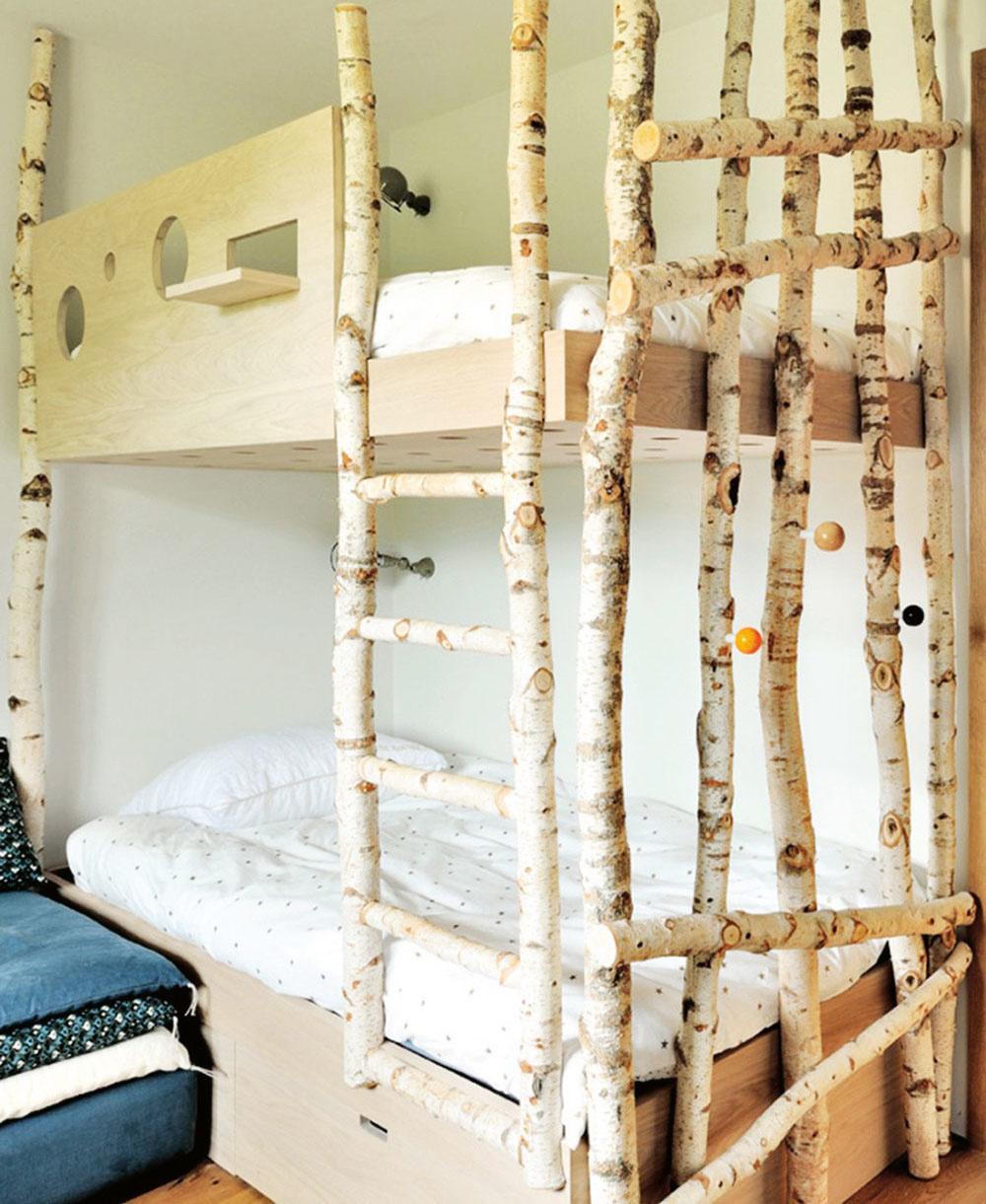 SÚRODENECKÉ DUO určite využije poschodovú posteľ. Najmä vmenšom byte vám ušetrí miesto. Každé zdetí navyše získa priestor, ktorý je aj vspoločnej izbe len jeho.