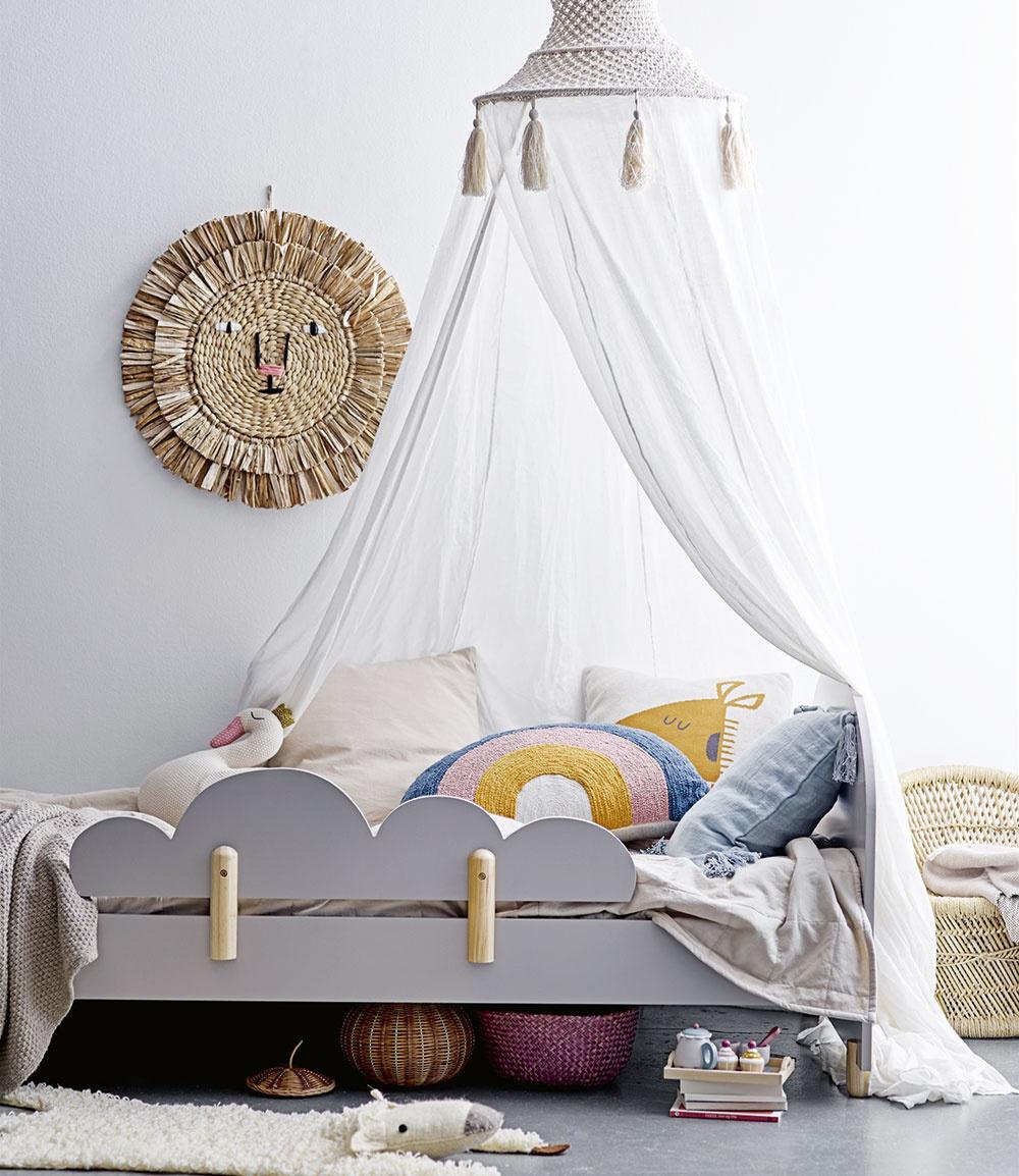 SÚKROMIE je pre pokojný spánok dôležité. Kto však povedal, že baldachýny patria iba princeznám? Používajú sa predsa aj na safari, akurát sa im hovorí moskytiéra. Účinne ochráni pred strašidlami, navyše vyzerá výborne.
