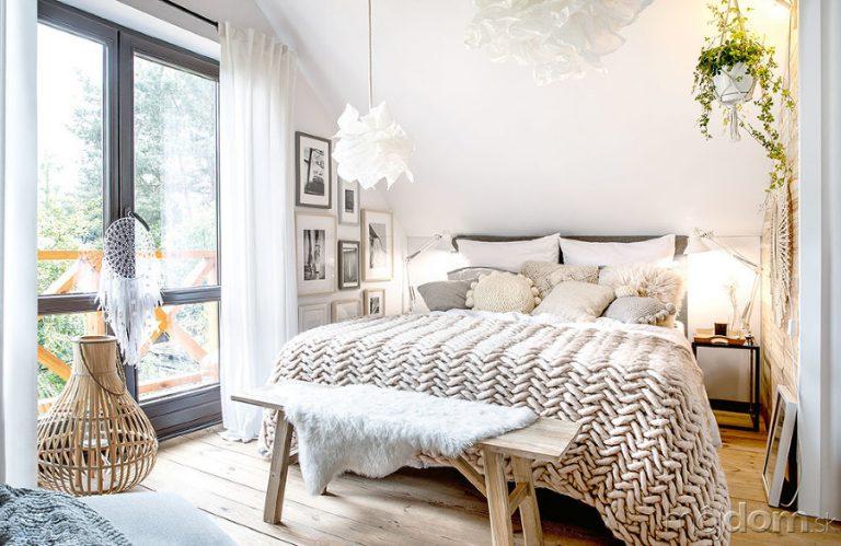 Spálňa podľa Marzeny Marideko