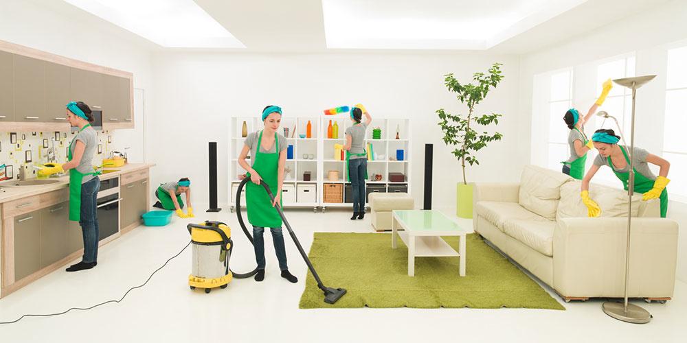 upratovanie obývačky