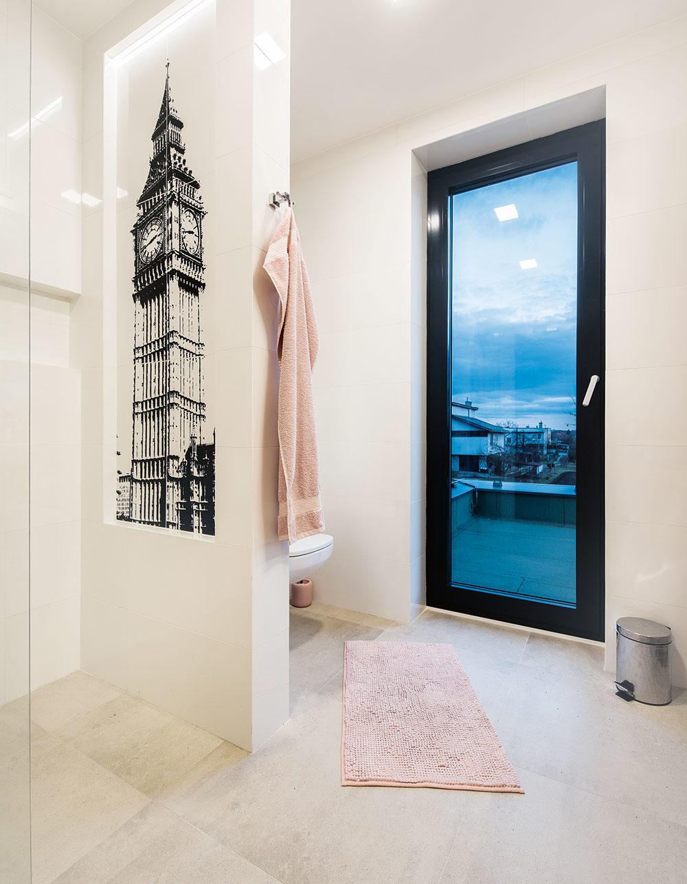 MOTÍV LONDÝNA v kúpeľne
