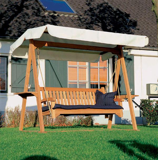 Tvary a rozmery záhradného nábytku