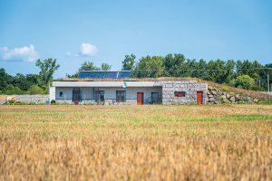 Krtkodom z Úporu: Keď je najlepšou voľbou dom krytý zeminou