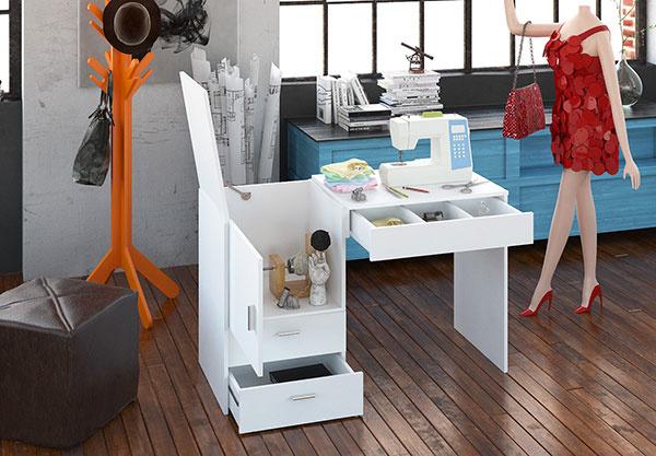 Vo vašom pracovnom kútiku by nemal chýbať dobrý pracovný stôl