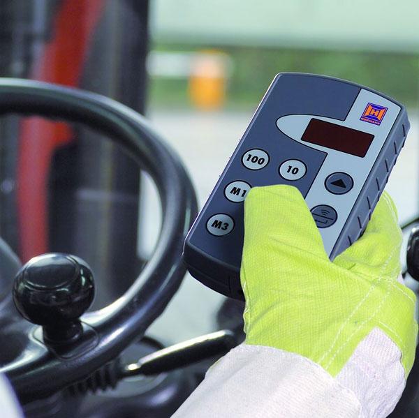 Ručný ovládač HSI zjednoduší prevádzku v priemyselných areáloch