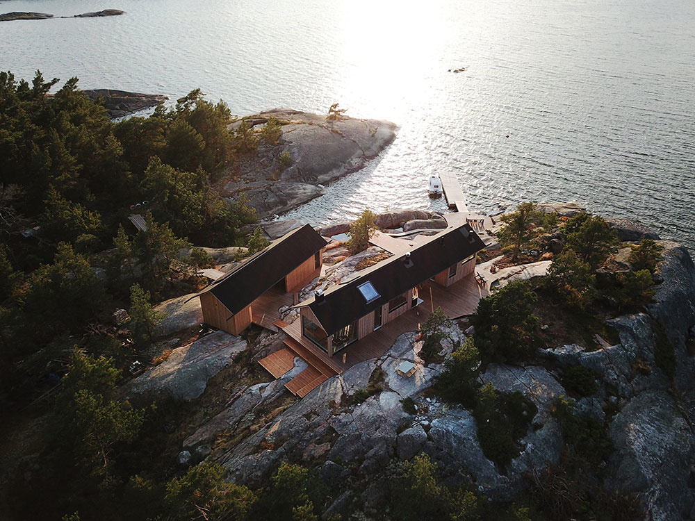 chata na ostrovčeku