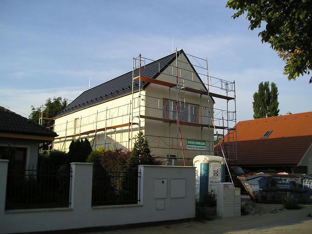 drevostavba stavba domu