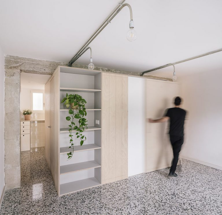 Vďaka multifunkčnému modulu vyťažili z malého bytu maximum