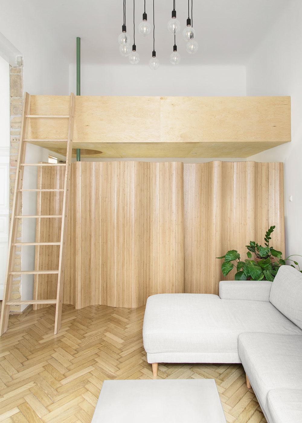 obývacia časť bytu