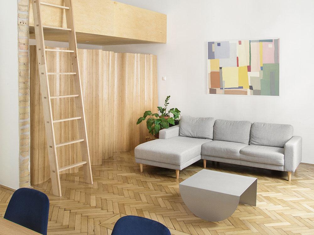Rekonštrukcia meštianskeho bytu poňatá nápadito a hravo