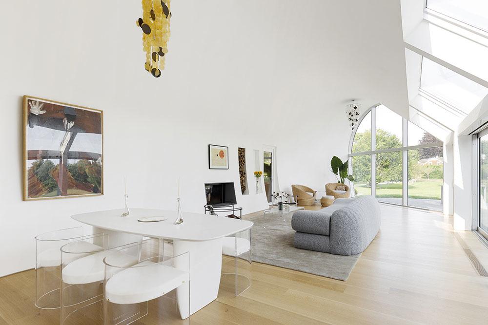 obývačka domu