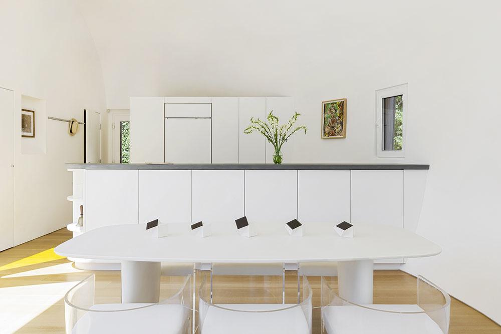spoločné priestory – kuchyňa, jedáleň,