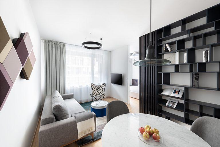 Nadštandardný dvojizbový byt s výhľadom na Dunaj