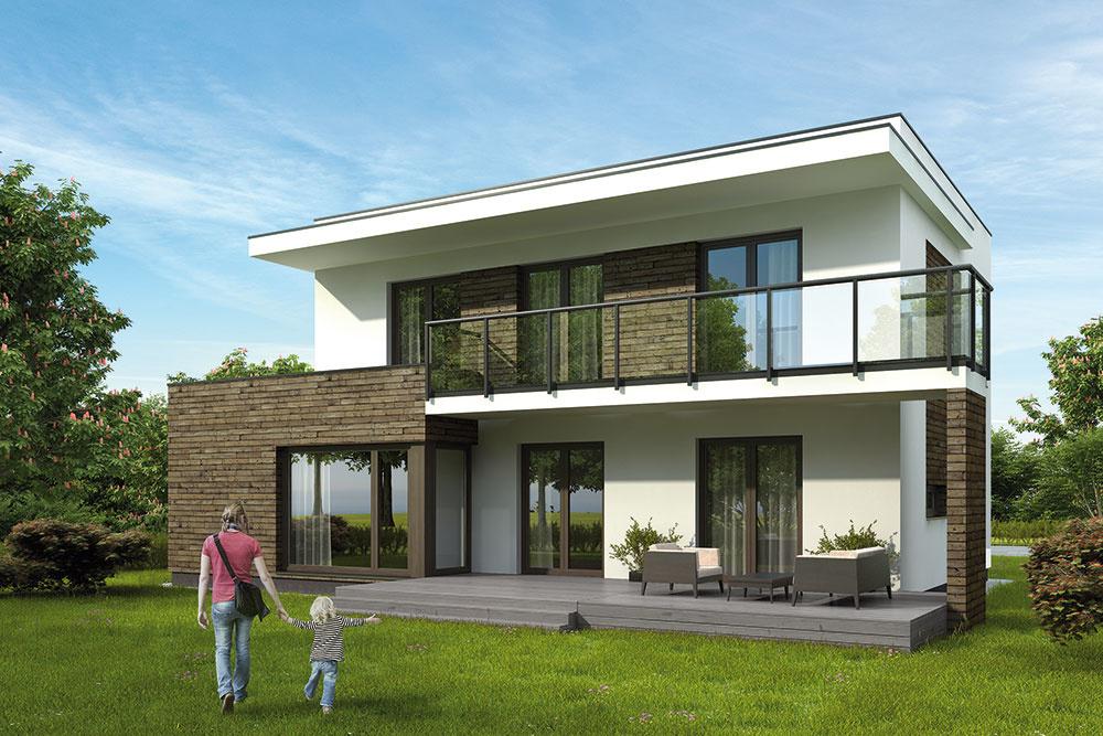 Projekt montovaného rodinného domu AURELIANUS