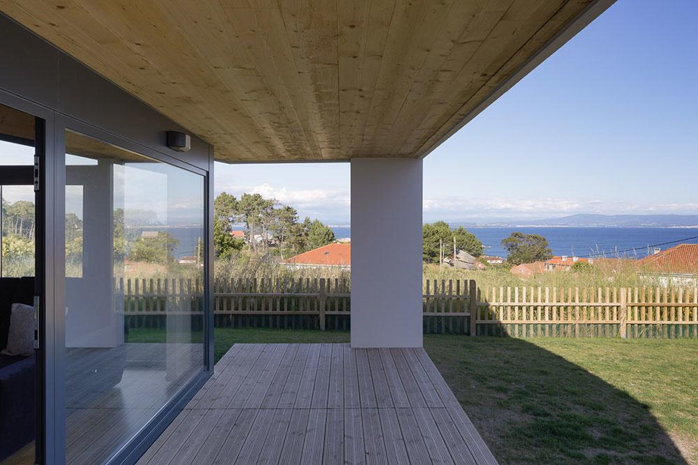 bočná veranda
