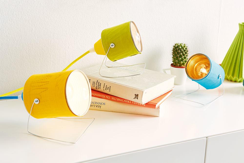 Lampy z plechoviek