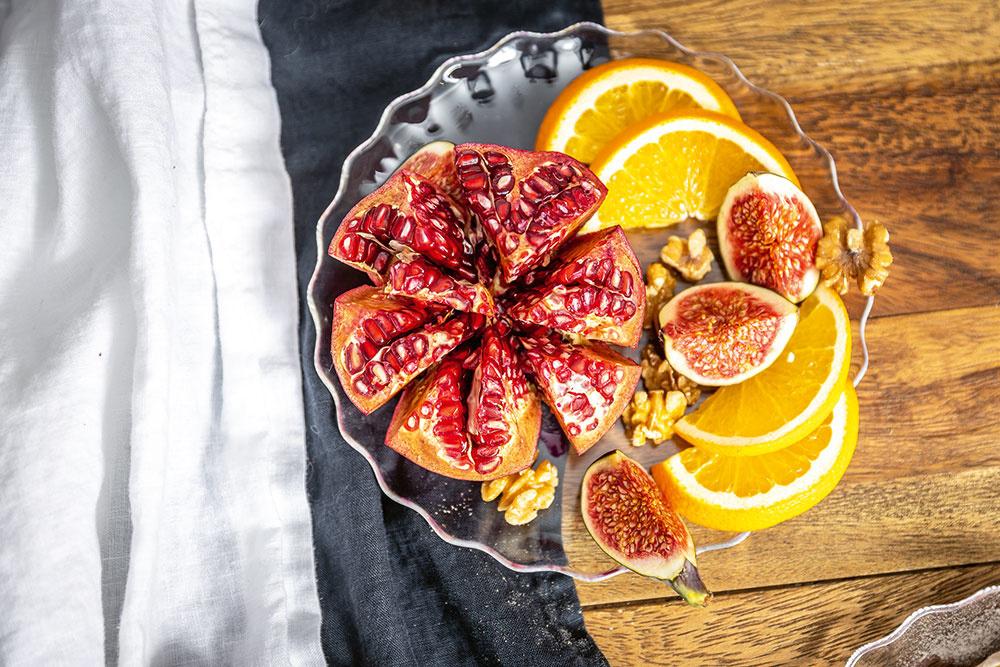 ovocie na stole