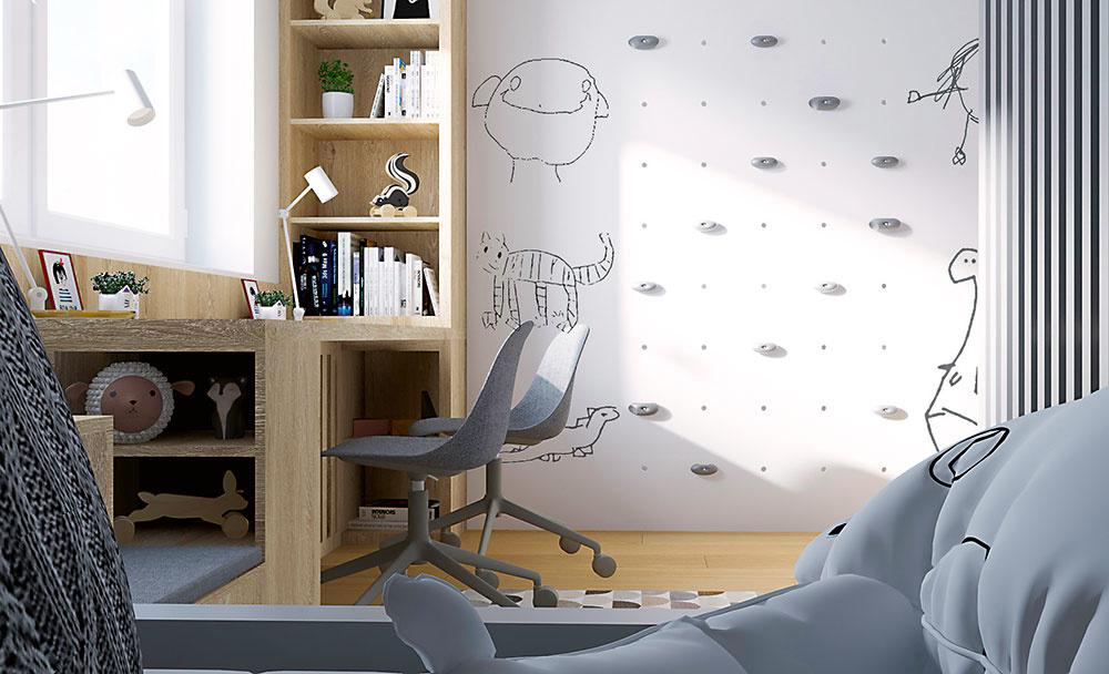 vizualizácia detskej izby