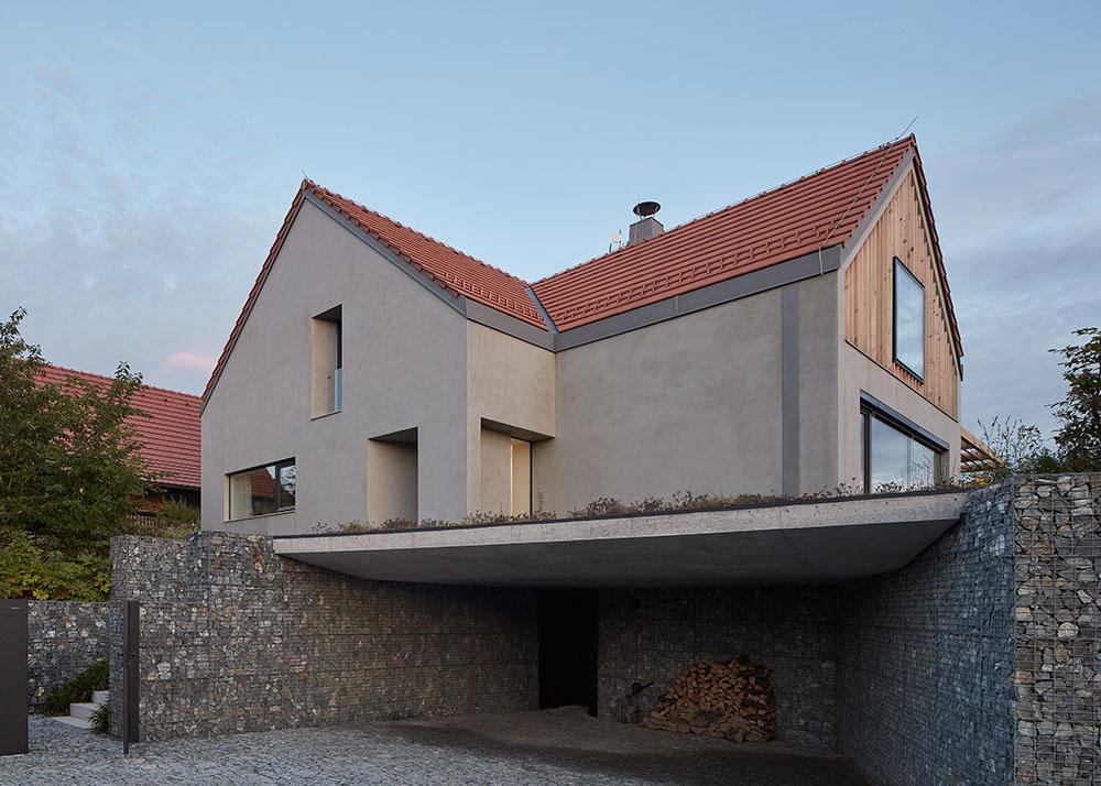 Dom do sedlovou strechou