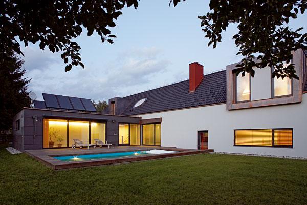 Energeticky úsporný dom v harmónii s krajinou