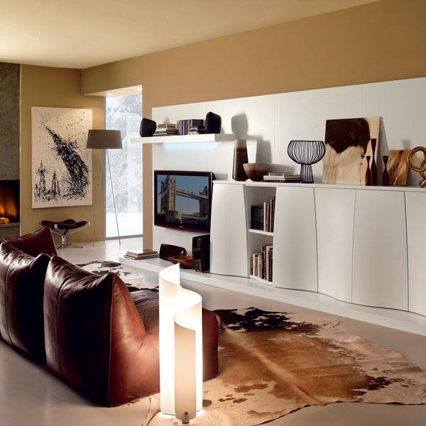 Obývačka v lofte – otvorene a loftovne (2.)