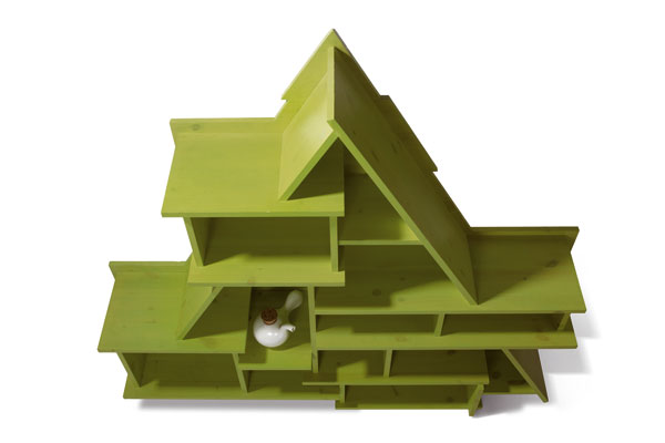 Obývačka v lofte - otvorene aloftovne