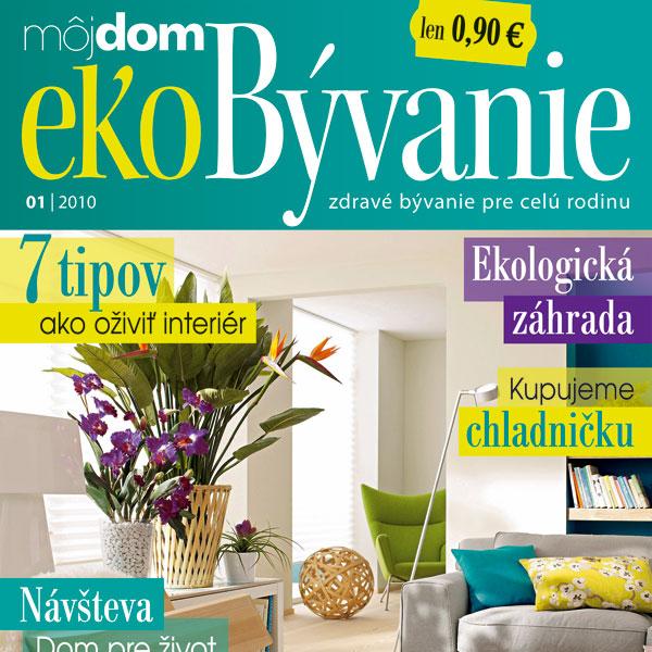 Časopis Môj dom ekoBývanie