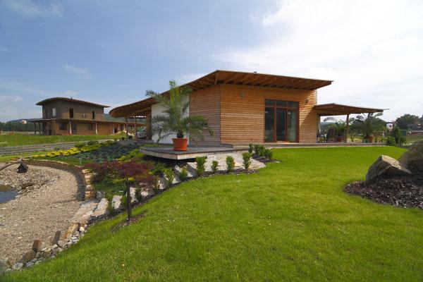 Energeticky pasívny dom z dreva a hliny