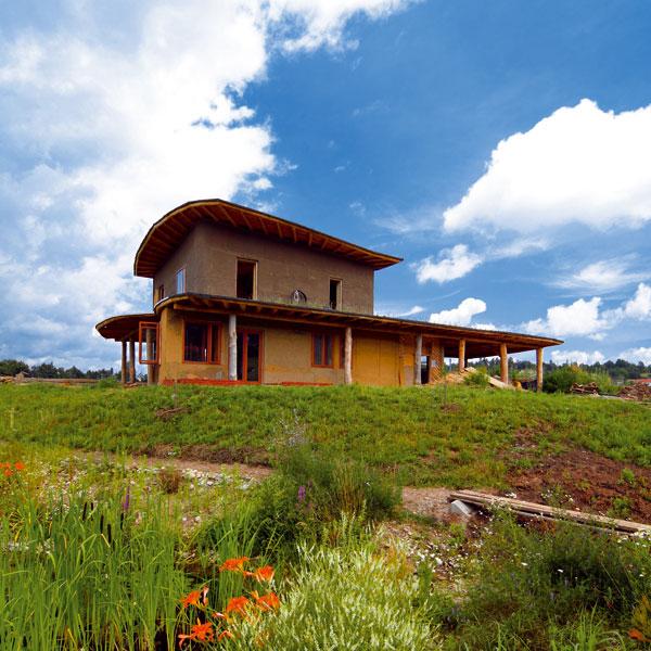 Energeticky pasívny dom z dreva a hliny (2.)