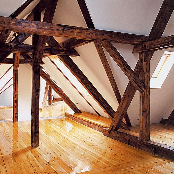 Zásady rekonštrukcie podkrovia (2.)