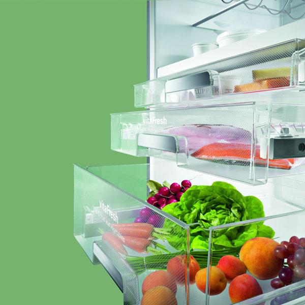 Chladiaca zóna vitaFresh udrží potraviny dlhšie čerstvé