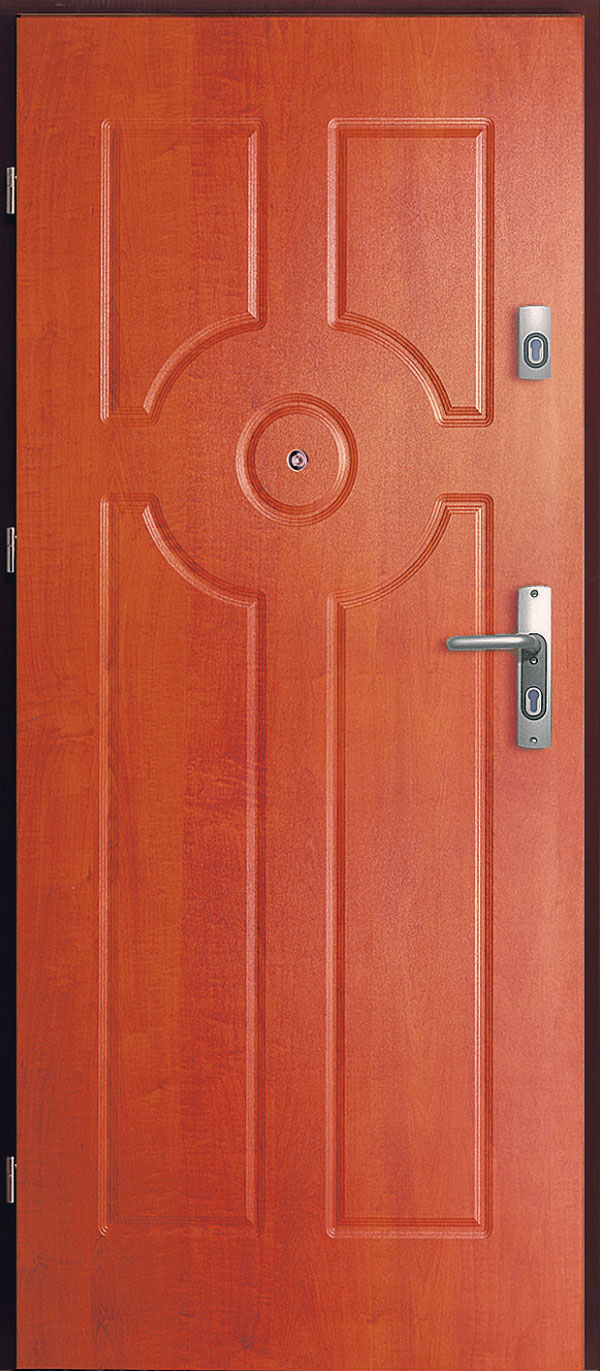 Základná konštrukcia bezpečnostných dverí