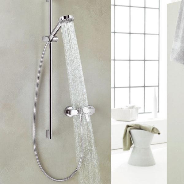 Výdatná azároveň úsporná sprcha