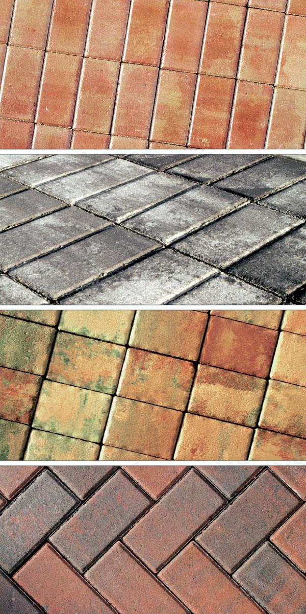 Úloha a materiály vonkajšej dlažby