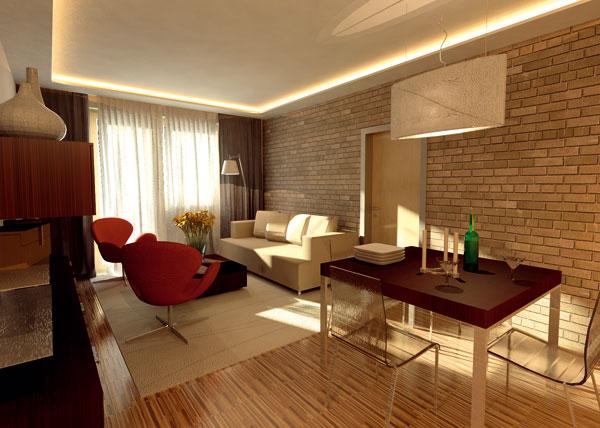 Malý, ale priestranný byt