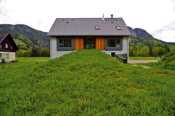 Stodola prestavaná na rodinný dom