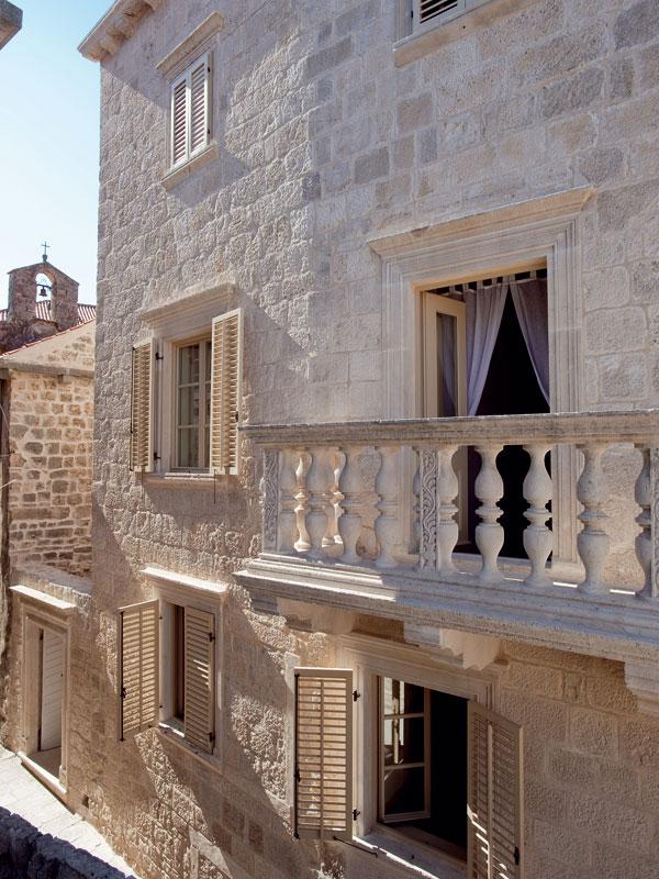 Palác premenený na hotel