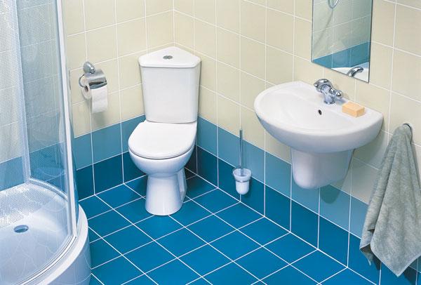Aj malá kúpeľňa môže byť komfortná