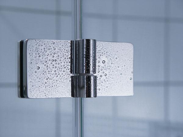 Pri výbere sprchovacieho kúta záleží predovšetkým na kvalite pántov!