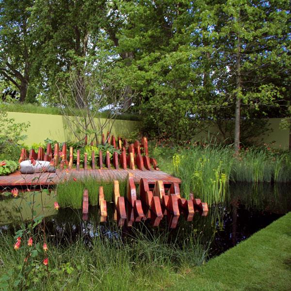 Divotvorná záhrada namiesto močiara