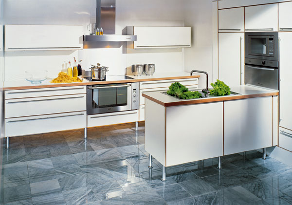 Štýlové drevo v kuchyni
