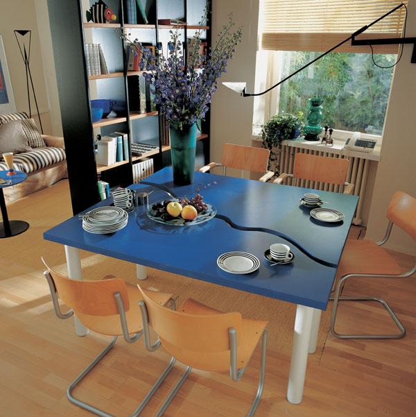 Tri izby z jednej: obývacia izba, jedáleň a pracovňa