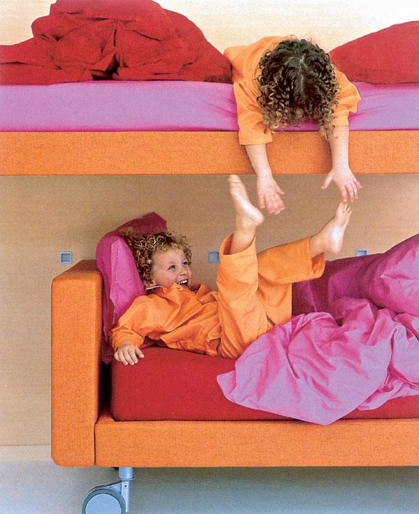 Detská izba s ohľadom na vek dieťaťa