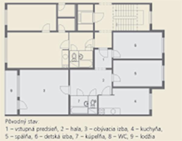 Kvalitné bývanie pre rodinu sdeťmi
