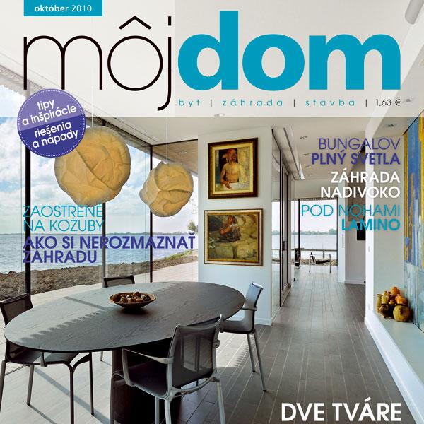 Časopis môj dom október 2010 v predaji